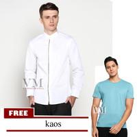 VM Baju Koko Putih Free Sarung