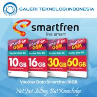 Voucher Data Smartfren 16GB 16 GB