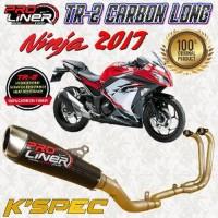 ProLiner TR2 Carbon Long NINJA 250 Fi -2017 Knalpot Racing Full system