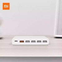 XIAOMI Fast Charger 3.0 Multiple HUB 6 Ports 60W Original by xiaomi