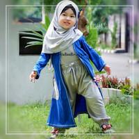 eLBi Gisela Set - Baju Muslim Balita - Setelan Baju Tunik Size 1-6thn