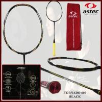 Raket Badminton ORIGINAL ASTEC TORNADO 600 BLACK
