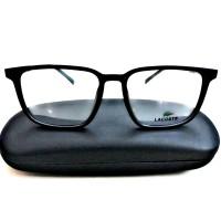 Kacamata Frame Minus Lacoste L2188 003 Black Model Vintage & Stylis