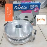 BAKING PAN ORCHID 24CM 6 TELOR