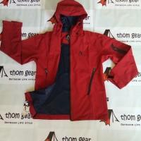 outdoor jacket pelvoux norris goretex paclite merah marun thomgear