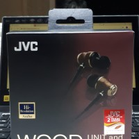 Earphone JVC HA-FX750 wood series::bukan Audeze Sony Audio Techina