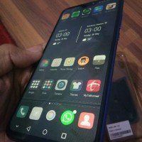 HUAWEI HONOR 8X 4GB 128GB SECOND MULUS BACA DESKRIPSI