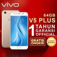 VIVO V5 Plus 4GB/64GB GARANSI RESMI 1 Tahun ORIGINAL - Emas