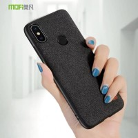 SAMSUNG GALAXY M21 M215 MOFI FABRIC ORIGINAL HARD CASE JEANS SILICONE