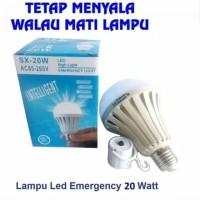 Lampu Bohlam Emergency Sentuh SX 20Watt