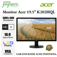 "Monitor LED Acer K202HQL 19.5 "" Inch"