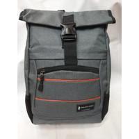 Ransel Polo Classic 8073-06 GRAY. Backpack Import. Darena bags Bandung