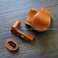 CS0 Canon EOS M50 M5 Leather Bag / Case / Tas Casing Kamera Kulit