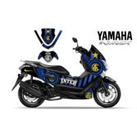 DECAL STICKER MOTOR YAMAHA NMAX INTERMILAN EDITIONS