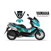DECAL STICKER MOTOR YAMAHA NMAX LEOPARD