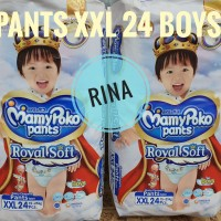 Mamypoko Pants XXL 24 BOYS Royal Soft Mamypoko Extra Soft