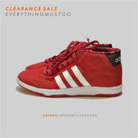 ADIDAS NEO DAILY AVANGER HIGH - RED - FACTORY MADE