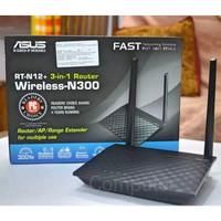 ASUS ROUTER RTN 12+ 3-in-1 N300 Router/AP/Range Extender
