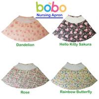 Apron Menyusui Jaring BOBO   Celemek Nursing Apron Bulat