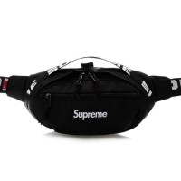 Supreme Waist Bag Black SS18