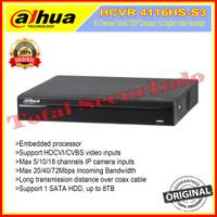 DVR DAHUA ORIGINAL HCVR4116HS-S3 16 CHANNEL / 16 CH 1080P
