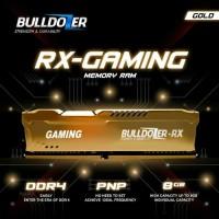 RAM PC DDR4 8GB PC4 19200 2400MHZ CL17 BULLDOZER RX GAMING.BERGARANSI