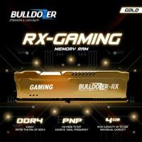 RAM PC DDR4 4GB PC4 19200 2400MHZ CL17 BULLDOZER RX GAMING.BERGARANSI