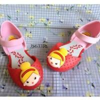 SPT17 - sepatu jelly princess flat shoes anak cewek perempuan walker