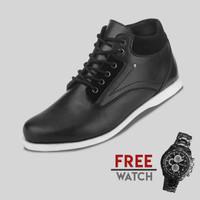 Sepatu Casual Pria S. Van Decka J-TY01 Free Jam Tangan Sport