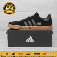 Sepatu adidas gazelle hitam gum-sepatu pria adidas gazelle