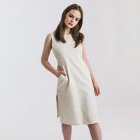 SAFA DRESS CREME LOOKBOUTIQUESTORE