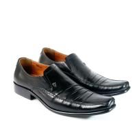 pantofel pria asli kulit Sepatu kerja Dan pesta