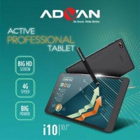 ADVAN Vandroid I10 Active Tablet Pro 10.1 Inch 4G LTE RAM 2GB ROM 16GB