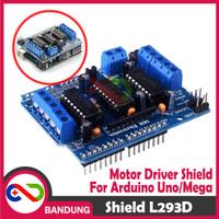 [CNC] L293 L293D MOTOR DRIVER SHIELD FOR ARDUINO MEGA UNO NANO