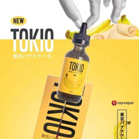 EJ33 Vape Liquid Tokio 3mg / 6mg