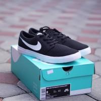 ORIGINAL Sepatu Nike Skate Board SB Portmore II Black White BNIB
