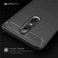 OPPO F11 Case Shockproof Auto Focus Carbon Premium Soft TPU F 11
