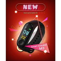 Smartwatch M3 Smart Watch Band M3 Xiaomi Mi Band 3 Jam Tangan Pintar