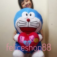 boneka doraemon love