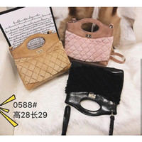 Tas import combi bludru Fashion SALE