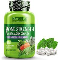 NATURELO Bone Strength Plant Calcium Complex Kesehatan Tulang 120 Caps