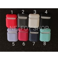 Airpods SIlicone Case Silikon Casing Soft Hard Original Cover iPhone