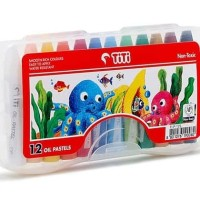 Crayon TITI Oil Pastel 12 warna 12 colours