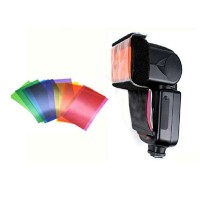 Colour Light Digital Camera External Flash Diffuser Filter Film