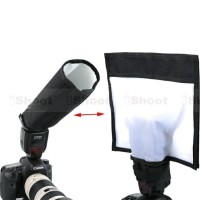Ishoot Foldable Reflector/Snoot Reflective Flash Diffuser Softbox for