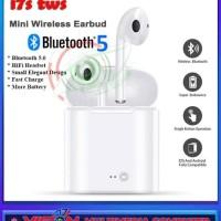 promo harga murah obral headset bluetooth hbq twins i7s i9 plus