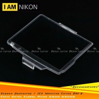 Tempered Glass Screen Protector Pelindung LCD Monitor Cover BM-8 Nikon