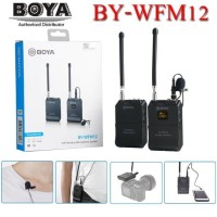 Mic Boya BY WFM12 Wireless Clip on for smartphone mirrorless kamera