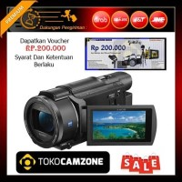 BAGUS Sony FDR AX53 4K Ultra HD Handycam Camcorder LAGI TREN