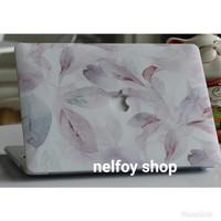 Macbook New Air 13 Mac Book Flower Case Cover Hard Soft Casing Skin